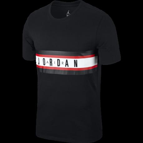 Nike T-Shirt Mm Jordan Graphic 4  Nero/Bianco