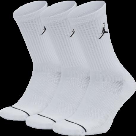 Nike Calza Jordan Evry Max Crew 3pk  Bianco