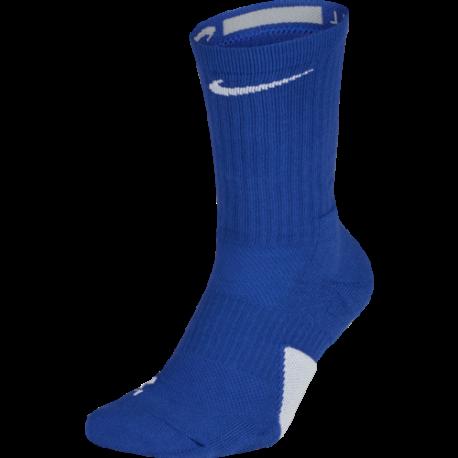 Nike Calza Elt Crew  Blu/Bianco