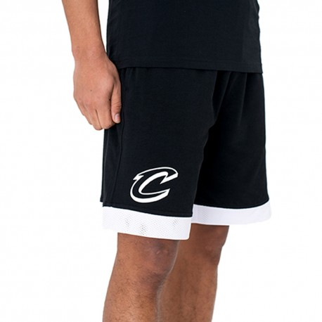 New Era Short Nba Mesh Cleveland  Nero/Bianco