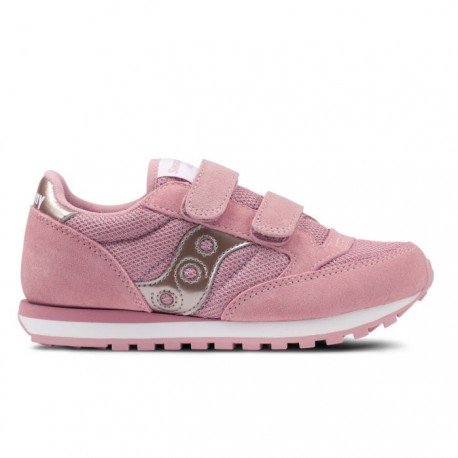 Saucony  Junior Jazz Double Hl Ps  Metallic Pink