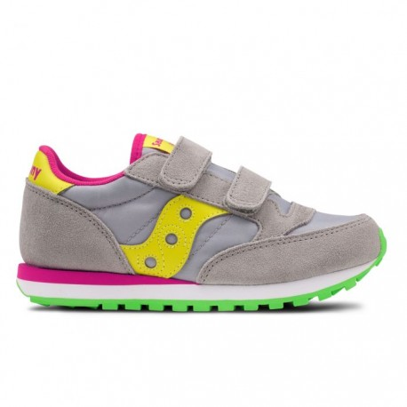 Saucony  Junior Jazz Double Hl Ps  Grey/Yellow