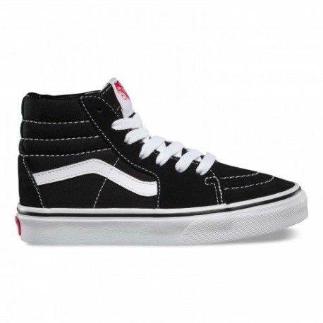 Vans  Junior Uy Sk8 Hi Ps  Nero/Bianco