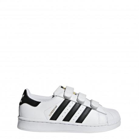 Adidas  Junior Supersta Cf Ps  Bianco/Nero
