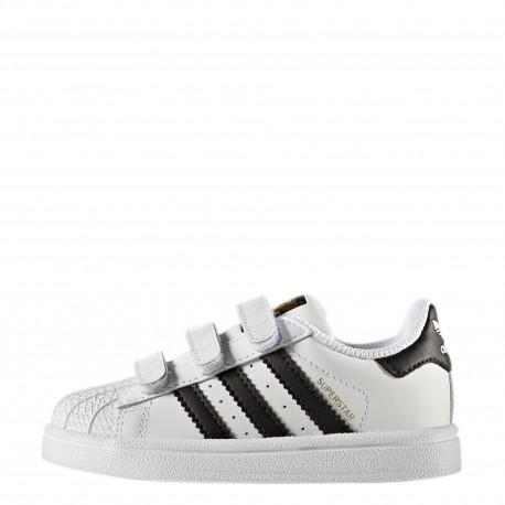 official photos 8999b c3820 ... Adidas Junior Superstar Cf I Td Bianco Nero