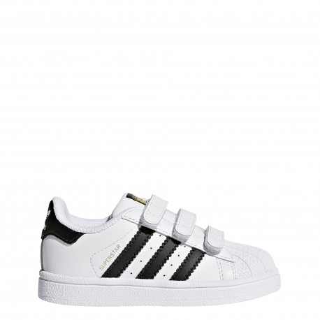 Adidas  Junior Superstar Cf I Td  Bianco/Nero