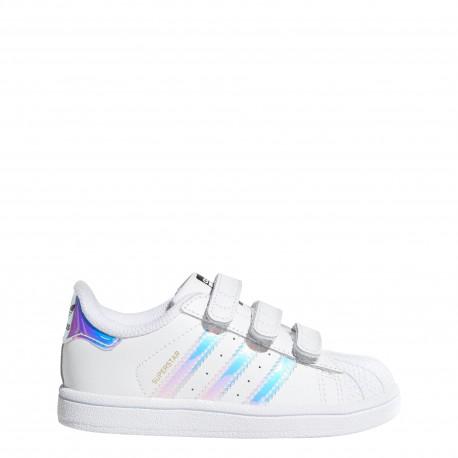 Adidas  Junior Superstar Cf I Td  Bianco/Multi