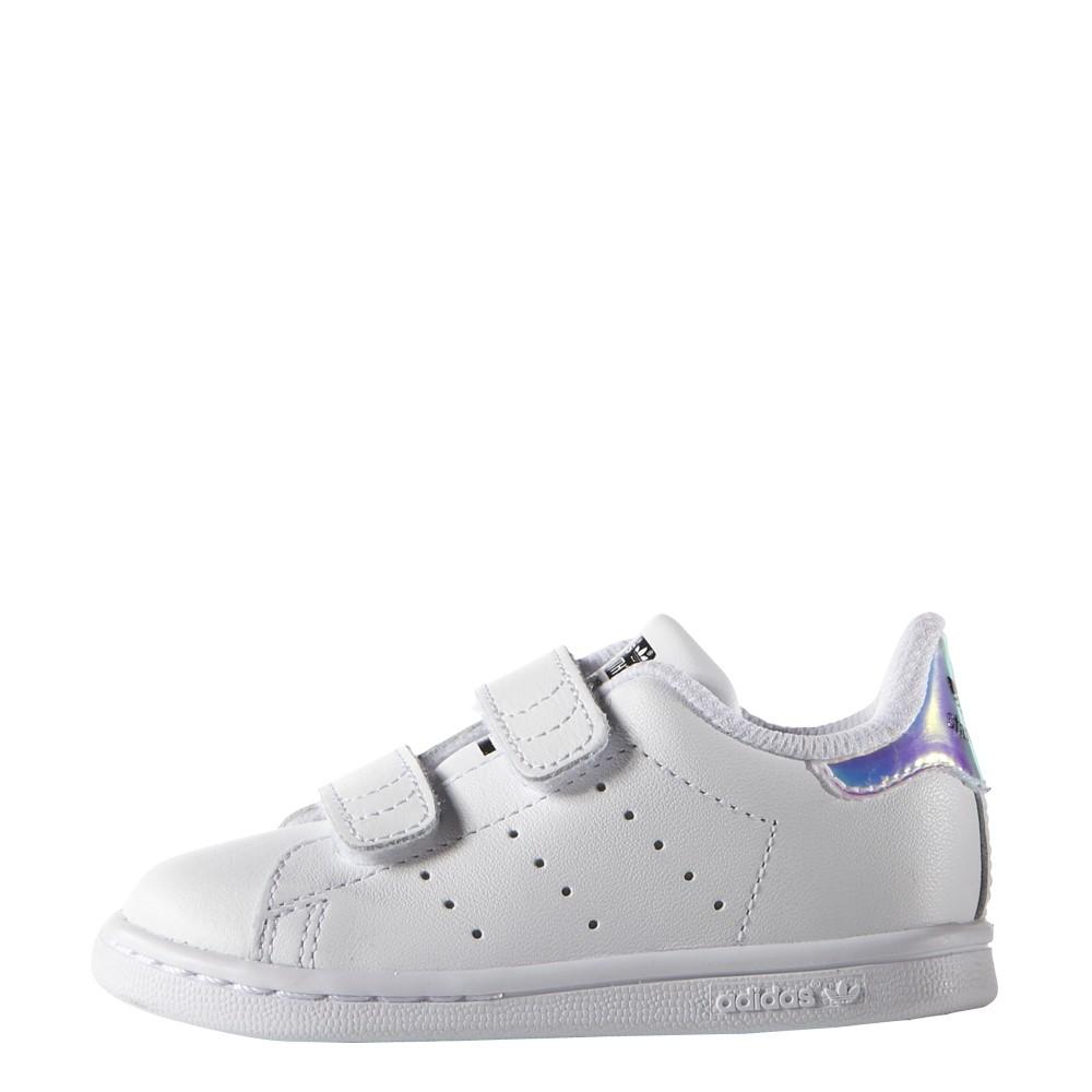 new concept 8e295 9f4de ... Adidas Junior Stan Smith Cf I Td Bianco Multi ...