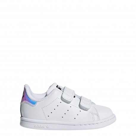 Adidas  Junior Stan Smith Cf I Td  Bianco/Multi