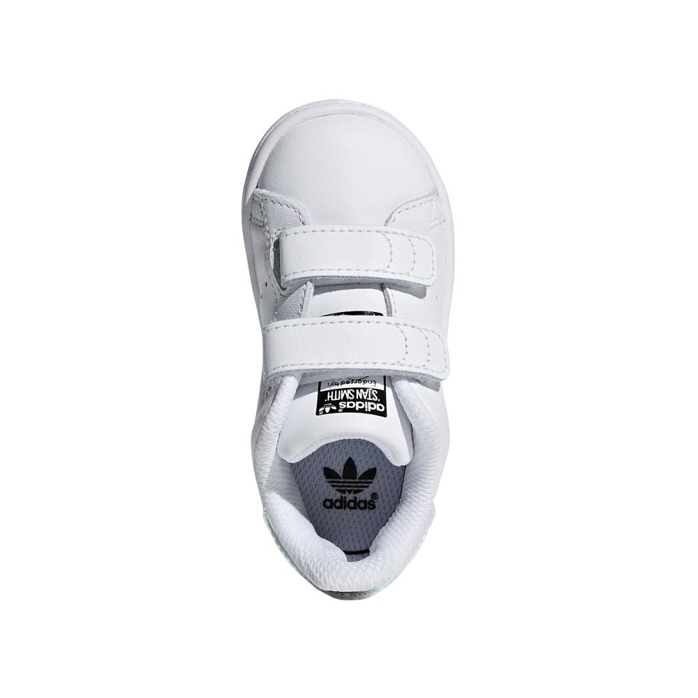 info for 39ef9 ba30a ... Adidas Junior Stan Smith Cf I Td Bianco Multi