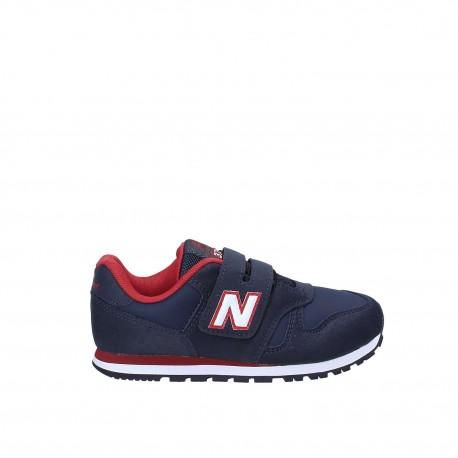 New Balance  Junior 373 Synthetic Ps  Navy/Bianco