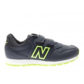 New Balance 500 Syntetic Ps  Blu/Verde Bambino