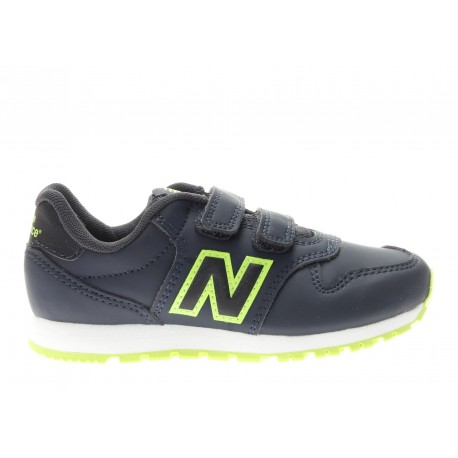 New Balance  Junior 500 Syntetic Ps  Blu/Verde