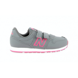 New Balance  Junior 500 Syntetic Ps  Grigio/Fuxia
