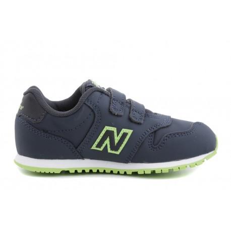 New Balance  Junior 500 Syntetic Td  Blu/Verde