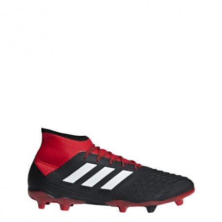 Adidas  Predator 18.2 Fg Nero/Bianco/Rosso