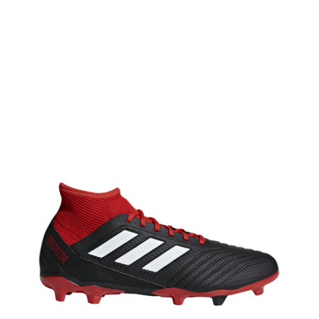 Adidas Predator 18.3 Fg Nero/Bianco/Rosso