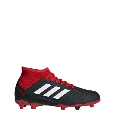 Adidas  Bambino Predator 18.3 Fg Nero/Bianco/Rosso
