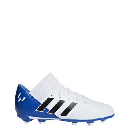 Adidas  Bambino Nemeziz Messi 18.3 Fg Blu/Bianco