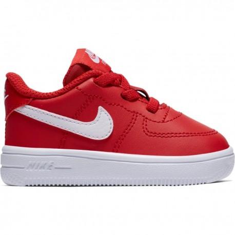 Nike  Junior Force 1 '18 Td  Rosso/Bianco