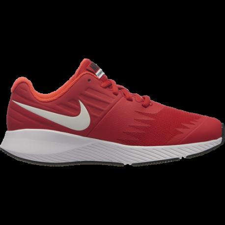 Nike  Junior Star Runner Gs  Rosso/Bianco