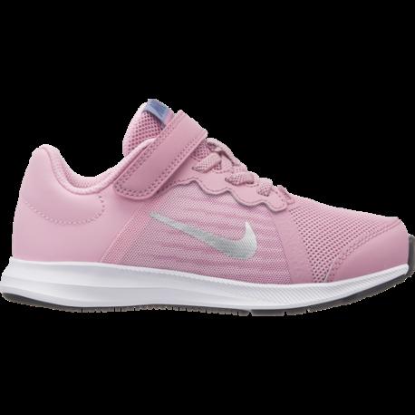 Nike  Junior Downshifter 8 Psv  Rosa/Grigio