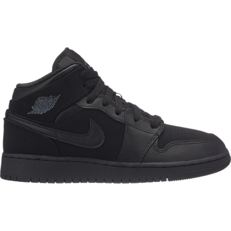 Nike  Junior Air Jordan 1 Mid Bg  Nero/Bianco