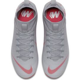 Nike  Bambino Superfly 6 Academy  Mg Grigio/Rosso