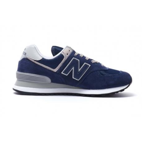 New Balance 574 Blu Donna