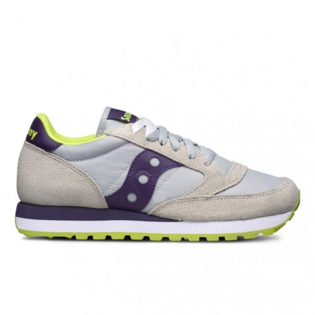 Saucony Jazz Grigie e Viola Donna Originals