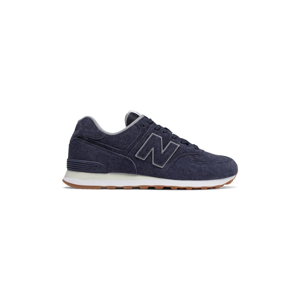 new balance 574 blu uomo