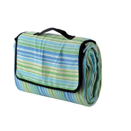 Meru Coperta Picknick Woodstock Blue Stripes