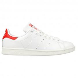 Adidas  Stan Smith Lea Bianco/Rosso