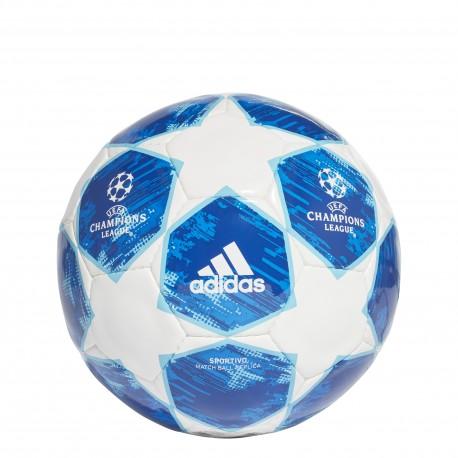 Adidas Pallone Finale 18 Bianco/Blu