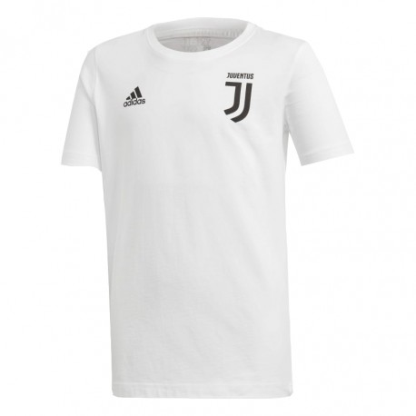Adidas T-Shirt Mm Juve 7 Cotone Nero/Bianco