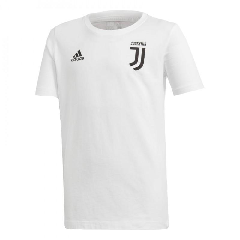 09e8457cb ADIDAS bambino t-shirt mm juve 7 cotone nero bianco - Acquista ...