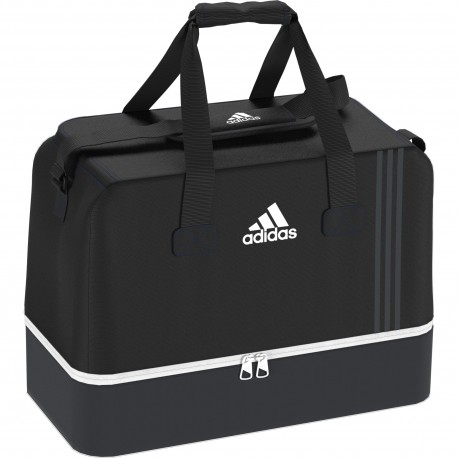 Adidas Borsa Tiro L Compartment Nero/Bianco