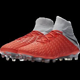 Nike  Hypervenom Phantom 3 Elite Df Fg Grigio/Rosso