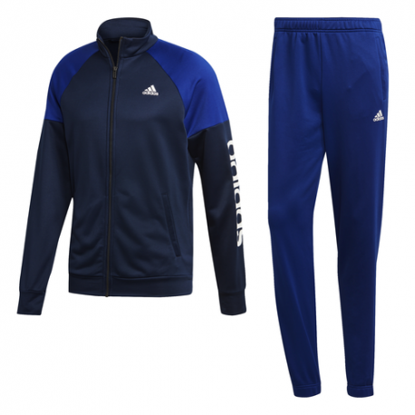 Adidas Tuta Blu Uomo