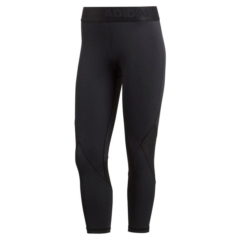 Adidas Leggings Alphaskin Sport Nero Donna