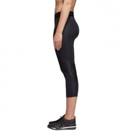 Adidas Leggings Alphaskin Sport Nero Donna