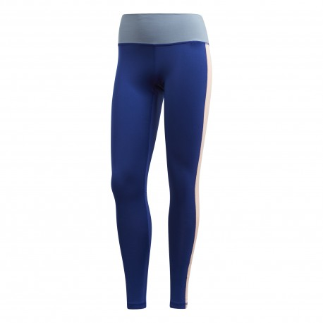 Adidas Leggings Believe This High Rise Soft Blu Donna