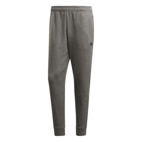 Adidas Pantalone Logo Stadium Grigio Uomo