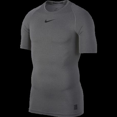Nike Maglia Manica Corta Pro Carbon Nero Uomo