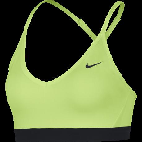 Nike Reggiseno Sportivo Indy Giallo Fluorescente Donna