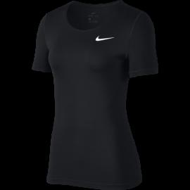 Nike Maglia Manica Corta Pro Nero Donna