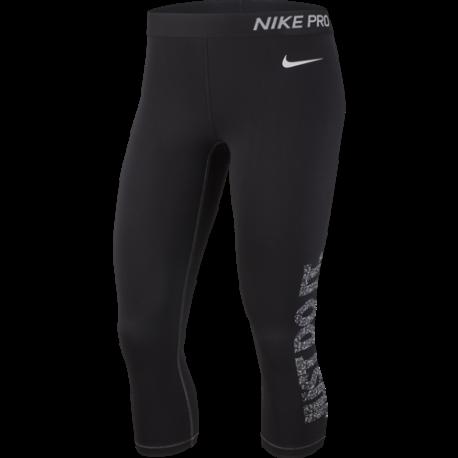 Nike Capri Swoosh Selfie Nero Donna