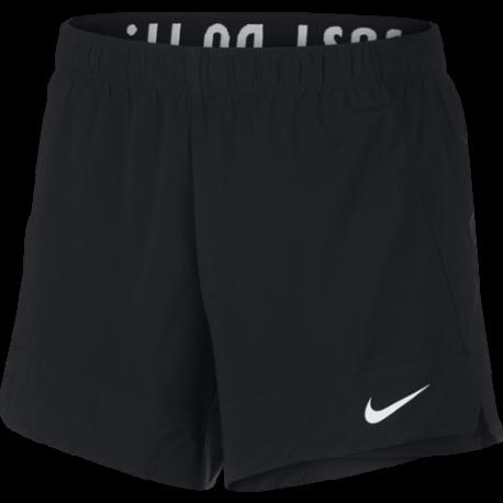 Nike Short Dri-FIT Flex 2IN1 Nero Donna