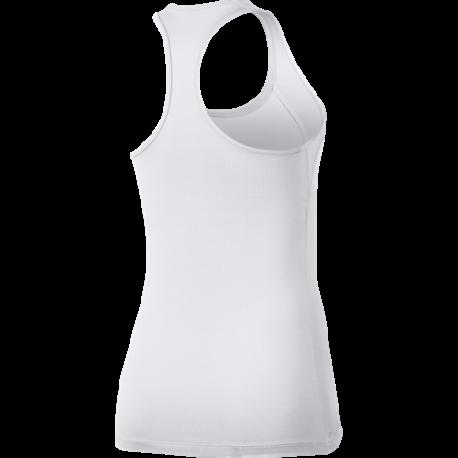 Nike Canotta All Over Mesh Bianco Donna
