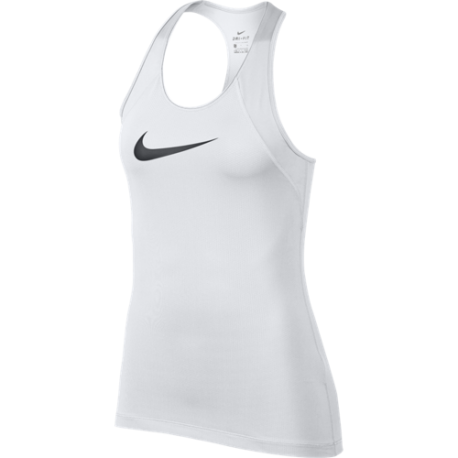 Nike Canotta All Over Mesh Bianco Donna